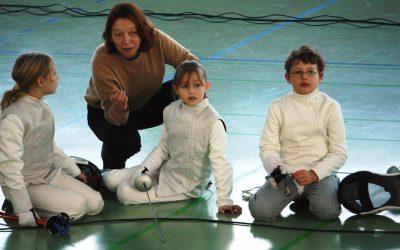 Kinderkurse 7 – 10 Jahre, Florett